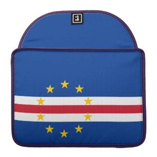 Cape Verde Flag Sleeve For MacBooks