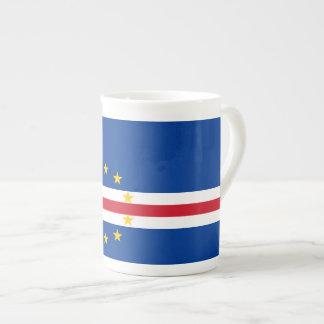 Cape Verde Flag Tea Cup