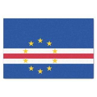 Cape Verde Flag Tissue Paper