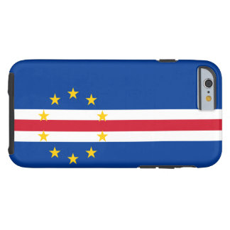 Cape Verde Flag Tough iPhone 6 Case