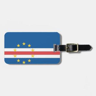 Cape Verde Flag Travel Bag Tag