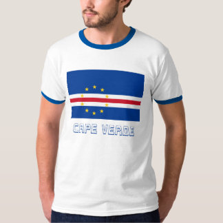 Cape Verde Flag with Name T-Shirt