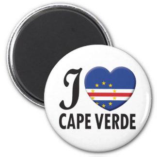 Cape Verde Love 2 Inch Round Magnet