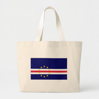 Cape Verde National Flag Tote Bags