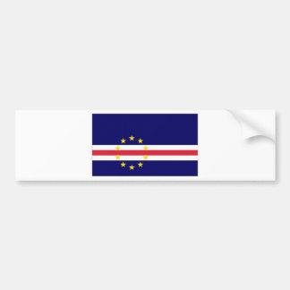Cape Verde National Flag Bumper Sticker
