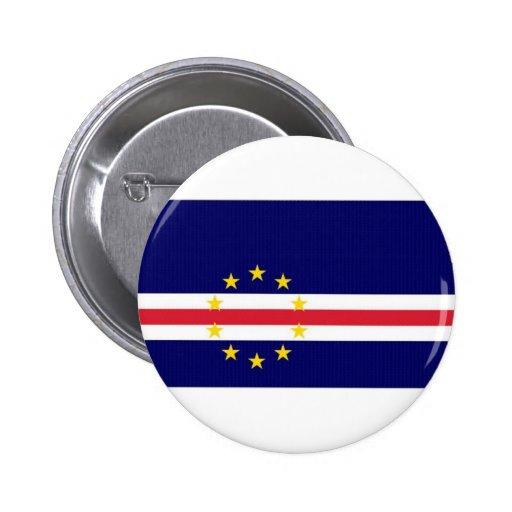 Cape Verde National Flag Pins