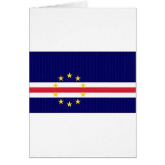 Cape Verde National Flag Card