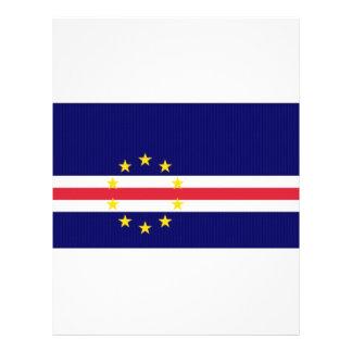 Cape Verde National Flag Custom Flyer