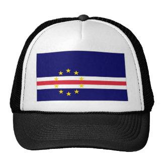 Cape Verde National Flag Trucker Hats