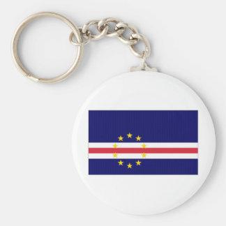 Cape Verde National Flag Key Chain
