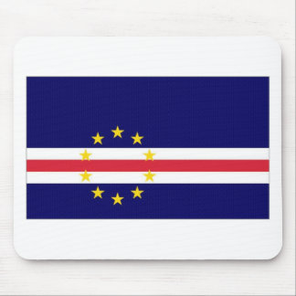 Cape Verde National Flag Mouse Pads