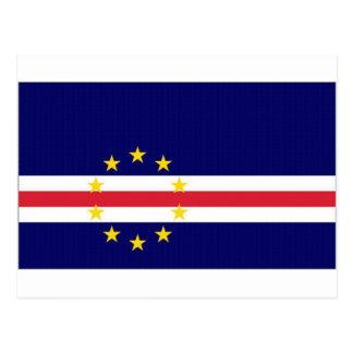 Cape Verde National Flag Postcard