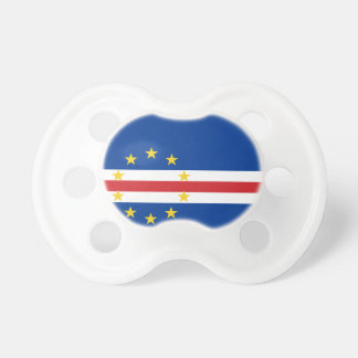 Cape Verde National World Flag Baby Pacifiers