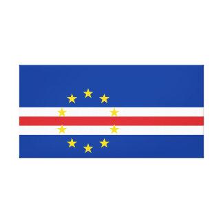 Cape Verde National World Flag Canvas Print