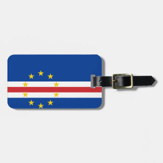 Cape Verde National World Flag Luggage Tag
