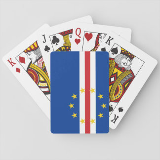 Cape Verde National World Flag Poker Deck