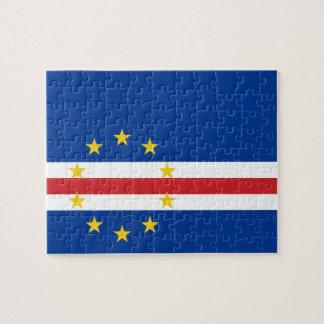 Cape Verde National World Flag Puzzle