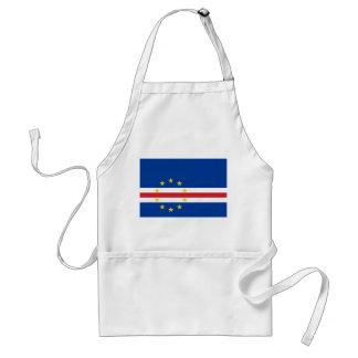 Cape Verde National World Flag Standard Apron