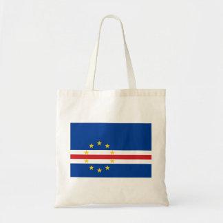 Cape Verde National World Flag Tote Bag