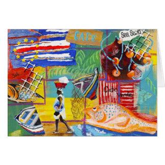 Cape Verde notecard Note Card
