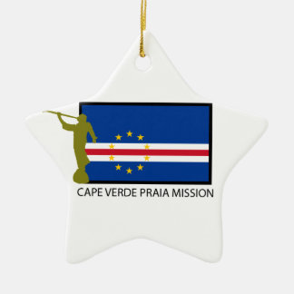 CAPE VERDE PRAIA MISSION LDS CTR CERAMIC ORNAMENT