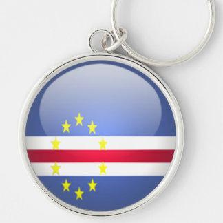 Cape Verde - Premium Round Keychain