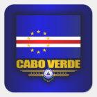 Cape Verde Pride Square Sticker