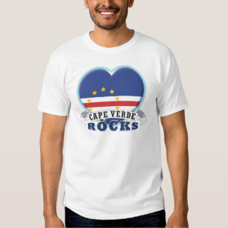 Cape Verde Rocks Tee Shirts