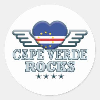 Cape Verde Rocks v2 Sticker