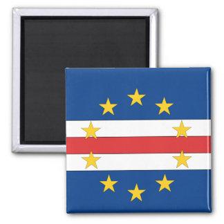 Cape Verde Square Magnet