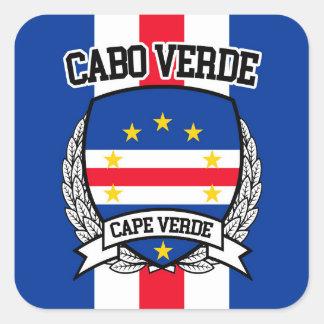 Cape Verde Square Sticker