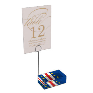 Cape Verde Table Card Holders