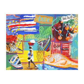 Cape Verde Wall Canvas Gallery Wrapped Canvas