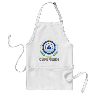 Cape Verdean Emblem Standard Apron
