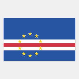 Cape Verdean flag Stickers