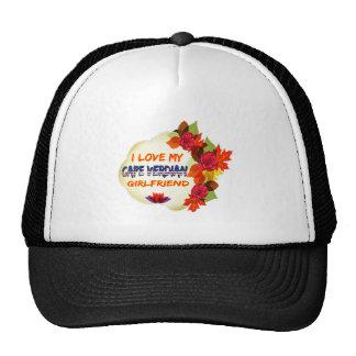 Cape Verdian Girlfriend designs Mesh Hat