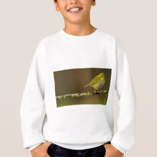 Cape White-Eye Bird Perched Sweatshirt