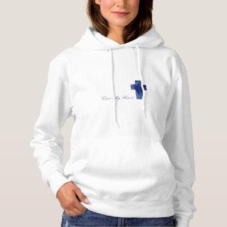 """CapellaJewels® """"Cross My Heart"""" Women's Hoodie"""