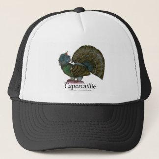 Capercaillie bird, tony fernandes trucker hat