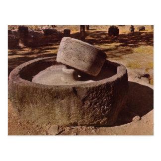 Capernaum, Galilee,, Millstone Postcard