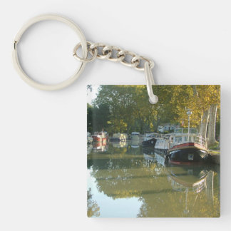 Capestang, canal du Midi Keychain