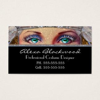 Capet Eyes Unique Professional Business Card