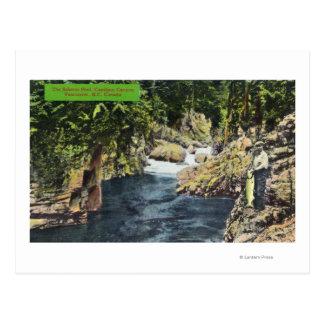 Capilano Canyon View of the Salmon Pool Postcard