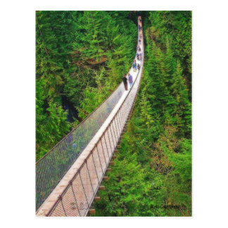 Capilano Suspension Bridge Postcard
