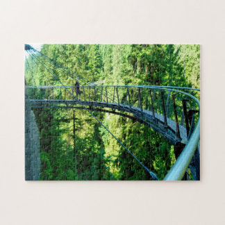 Capillano Cliff Walk Vancouver. Jigsaw Puzzle