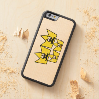 Capinha Bumper marries iPhone 6 - Gay Family Men Carved Maple iPhone 6 Bumper Case