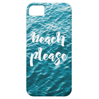 capinha of cellular beach please iPhone 5 case