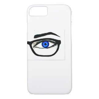Capinha of iPhone blue eye iPhone 8/7 Case