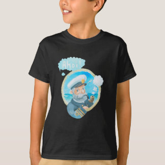 Capitaine naval Kids T-Shirt d'Ahoi