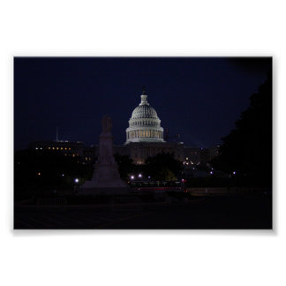 Capital Building Poster